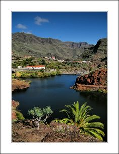 Embalse de Izcague II, San Sebastian de La Gomera, Canarias, Spain Copyright: Denis Dta