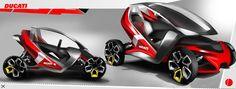 Ducati 4wheel design on Behance