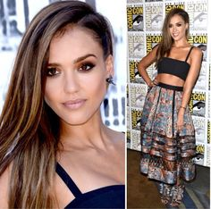 LIV BEAUTIFIED: Jessica Alba Makeup Inspired (Comic Con 2014)