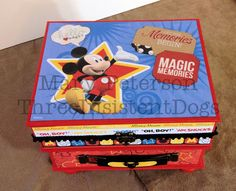 Disney's Mickey Mouse Mini Album with Easel Frame  (Where the Memories Begin)