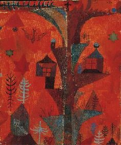 Paul Klee, The Tree of Houses,1918