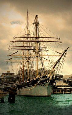 The Tall Ship Ellisa - 1877 Galveston, TX | por Amy V. Miller