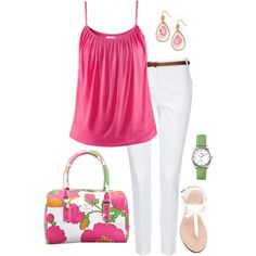 Color me Pink, created by romigr99 on Polyvore