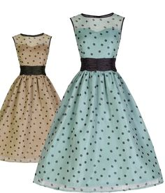 Lindy Bop 50's Cindy Polka Dot Cocktail Dress | Tiger Milly_Tiger Milly