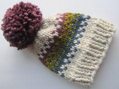 Fair Isle Knit Hat, Fair Isle Hat, Knit Hat, Women's Knit Hat, Men's Knit Hat, Hand Knit Hat, Knit Hat, Chunky Knit Hat by UpNorthKnits on Etsy https://www.etsy.com/listing/291087225/fair-isle-knit-hat-fair-isle-hat-knit