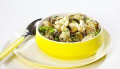 Dieses Kochrezept solltest du unbedingt nachkochen. Knackiger Blumenkohl mit Hackfleisch und cremigem Schmelzkäse. Ein Rezept von MAGGI.