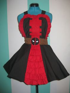 Bake in Style With These Nerd-Themed Aprons | The Mary Sue... Deadpool Apron! <3