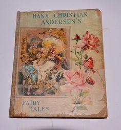 Antique Book Hans Christian Andersen's Fairy by FleurStreetVintage