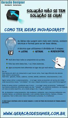 Estratégia e Inovação em T.I: 3 passos para uma ideia inovadora.
