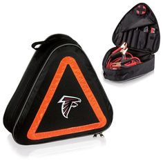nice Atlanta Falcons Digital Print Roadside Emergency Kit Black