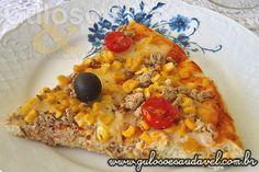 Pizza de Batata com Atum » Pães e Salgados, Receitas Saudáveis » Guloso e Saudável