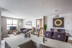 Velocity in Harbour Landing is a new condo community located in Regina's beautiful Harbour Landing New Condo, Open Concept, Maui, Living Area, How To Plan, Home, House, Ad Home, Homes