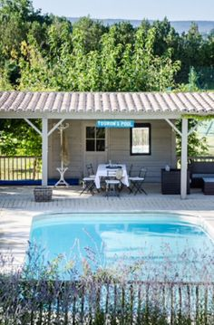"""This wonderful swimmingpool is from our feature """"La Beauté de Provence"""""""