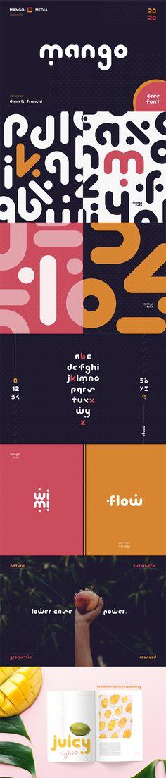 100 Free Fonts, Free Fonts Download, Cool Typography, Typography Letters, Mango Logo, Typographie Fonts, Futuristic Fonts, Luxury Font, Font Art