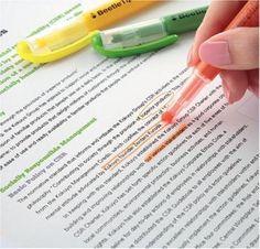 Japanese BeetleTip highlighter pen!