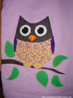 : Owl Applique