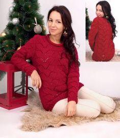 Suéter a punto fantasia Talla: 40/42. http://tejidogratis.com/44-tejido-para-mujeres-agujas/sueter/814-sueter-a-punto-fantasia-39.html