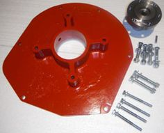 Canadian Electric Vehicles Ltd. - CEV Jeep 6 Cylinder Adapter