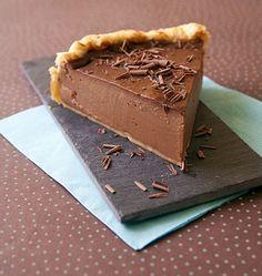 Flan pâtissier au chocolat - les meilleures recettes de cuisine d'Ôdélices                                                                                                                                                                                 Plus