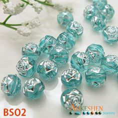 8mm Light Blue Rose Shaped Acrylic Beads Jewelry Making Findings http://www.eozy.com/8mm-light-blue-rose-shaped-acrylic-beads-jewelry-making-findings.html