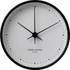 Shop a great selection of Georg Jensen KOPPEL 15 cm wall clock, stainless steel white dial. Find new offer and Similar products for Georg Jensen KOPPEL 15 cm wall clock, stainless steel white dial. Minimalist Wall Clocks, Black Clocks, Wall Clock Design, Design Bestseller, White Home Decor, Design Within Reach, Black Stainless Steel, Color Negra, Scandinavian Design