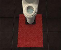 Bathroommate Footrug with Holy Simoly Texture - Anna's Sims
