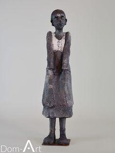 Joelle GERVAIS - Les mains dans les poches - 50 cm - vendu Sculptures Céramiques, Lion Sculpture, Gervais, Joelle, Om, Statue, Fashion, Contemporary Art, Pockets