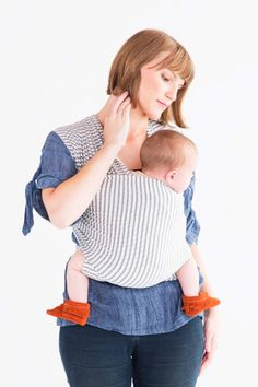 Natural & Grey Stripe - Solly Baby