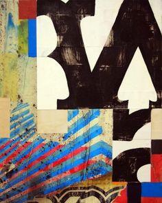 harold hollingsworth - : brighton II - oil, acrylic on photo canvas - - 2012 Jr Art, Collage Art, Collages, Letter Collage, Organic Art, Art For Art Sake, Elements Of Art, Elementary Art, Urban Art