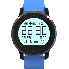 Lincass Heart Rate Monitor Watch-Best for Men Women-Running,Jogging,Walking,Gym Exercise,Cycling,Stop Watch,Multi Function Sports Bluetooth Wristwatch Compatible With iphone IOS Android Samsung (Blue). Dual mode heart rate: healthy heart rate and heart rate mode, can be set up to remind the target heart rate,(Heart rate numerical alarm is a special feature of the market and the utility is very strong)APP/APK can achieve heart rate synchronization, and data statistics and management…