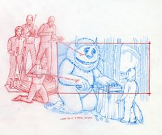 In honor of Maurice Sendak, the author of Where The Wild Things Are who passed away today, we'd like to share this collection of production illustrations by Constantine Sekeris, who helped bring Sendak's story to life in the 2009 film adaptation.