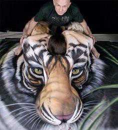 human tiger