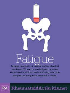10 Common Symptoms of RA: Fatigue   RheumatoidArthritis.net