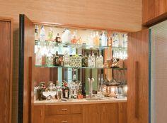 Image result for mid century modern bar images