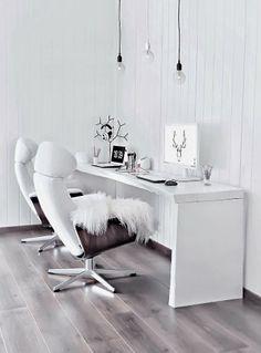 Scandinavian inspired office