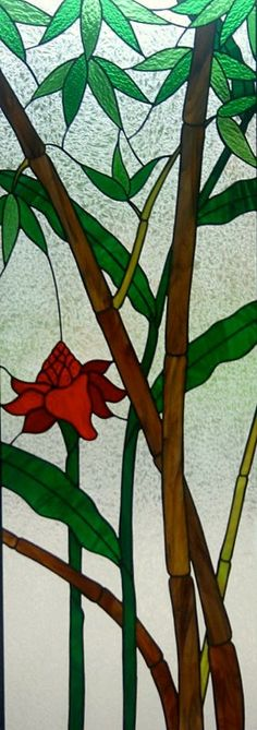 Flower and Bamboo by Joe Dwight
