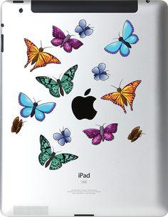 Ipad Decals: Butterflies