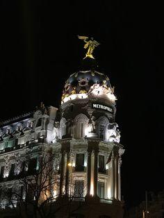 Edificio Metrópoli #Madrid