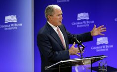 Without Saying Trump Bush and Obama Deliver Implicit Rebukes