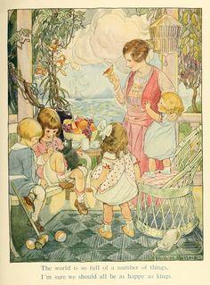 Ruth Mary Hallock - A Child's Garden Verses by Robert Louis Stevenson 1919