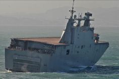 BPE L-61 Juan Carlos I. Segunda pruebas en la mar