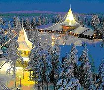 Santa Claus village in Roveniemi Finland. One of my fondest memories with my Mummo and Papa was traveling here when I was 16. I hope I can take my kids one day!