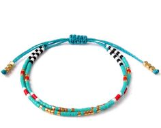 Summer Friendship bracelet best friend bracelets by ToccoDiLustro