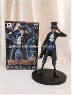 2015 new Wholesale 17cm PVC ONE PIECE SABO japanese characters action figure, View goku, donnatoyfirm Product Details from Guangzhou Donna Fashion Accessory Co., Ltd. on Alibaba.com