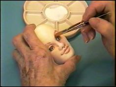 Mimi's Pretty Face Dollmaking Workshop on a DVD - YouTube