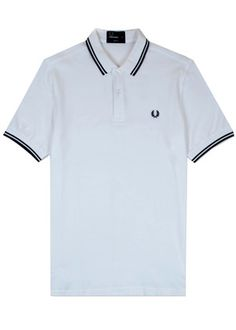 The Fred Perry Shirt in White