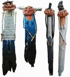Bem Legaus!: Gente de madeira