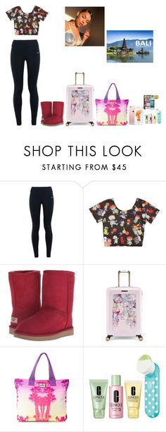"""We're Going To Bali!!!!"" by thegloup-reina on Polyvore featuring NIKE, UGG Australia, Ted Baker, Superdry and Clinique"