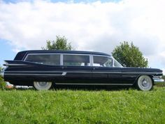 1959 Cadillac Hearse... @Molly Hammond will you drive my body around in this but follow @Dani Blain because it creeps her out(: