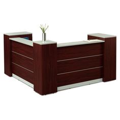 View our Tower Reception Desk with Lockable Storage - and shop our wide selection of furniture to customize your office space. Furniture Sofa Set, Small Furniture, Wooden Furniture, Furniture Design, Office Furniture, Affordable Furniture Stores, Top Furniture Stores, Locking Storage Cabinet, Modern Reception Desk